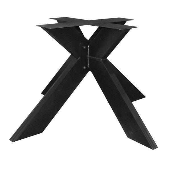 Metall Tischuntergestell bei Eichenholzprofi.de